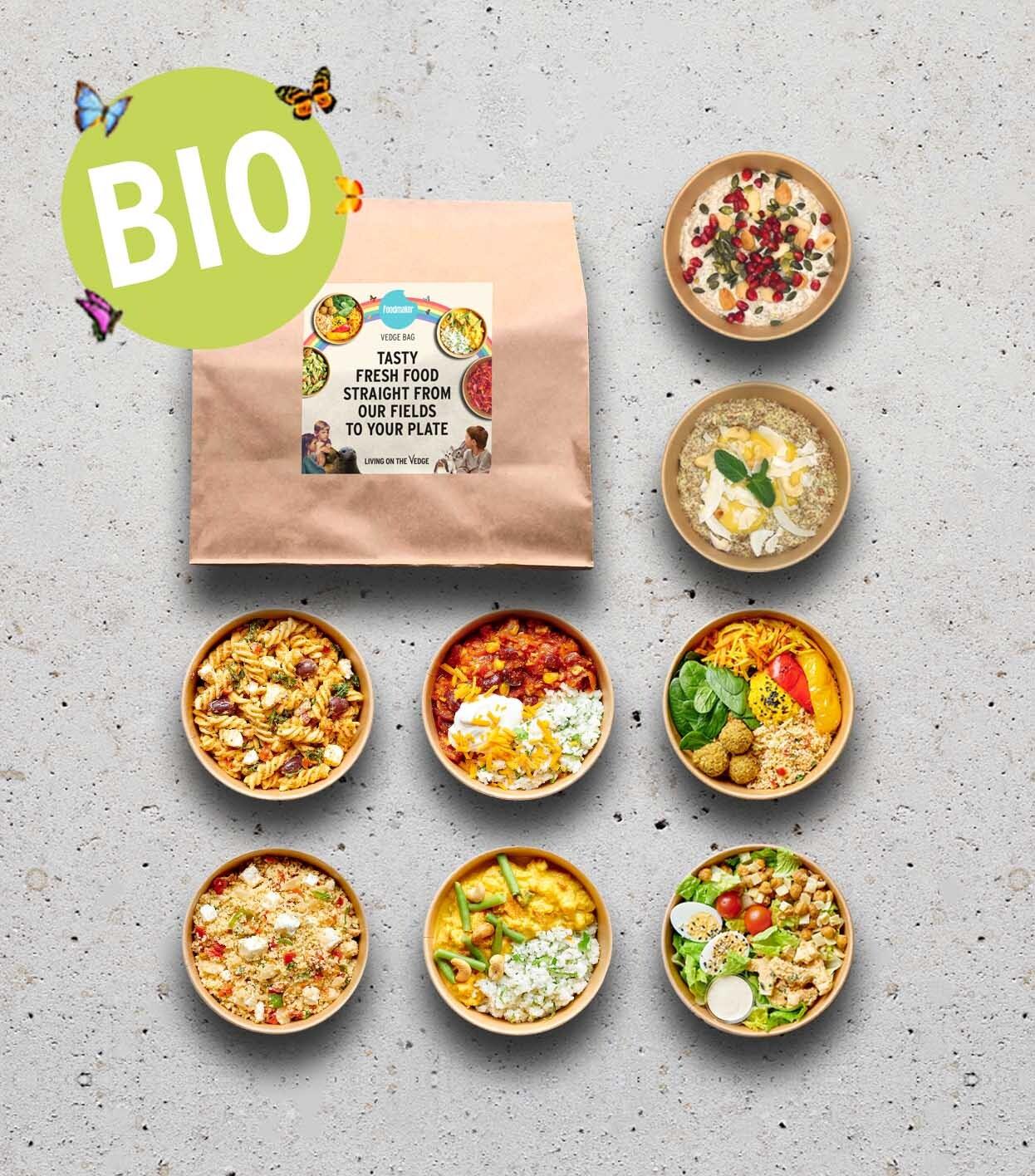 gezond gerechten ontbijt lunch salades warme gerechten in meeneemverpakking biologisch